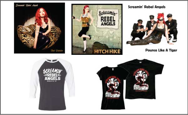 Shop Screamin' Rebel Angels Merch